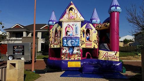 Disney Princess bouncy castle hire perth, perth bouncy castle hire Princess, a bonza bounce