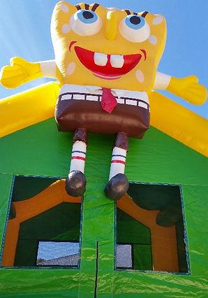 spongebob squarepants bouncy castle hire perth perth bouncy castle hire a bonza bounce