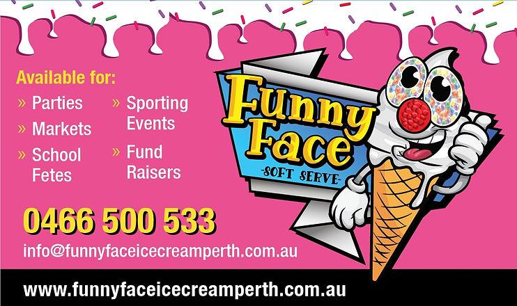 funny face card