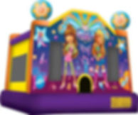 perth bouncy castle hire bouncy castle hire perth girl thing bratz dolls a bonza bounce