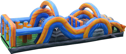 obstacle course hire perth bouncy castle hire perth a bonza bounce