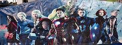 avengers hulk iron man captain america thor bouncy castle hire perth bonza bounce party hire