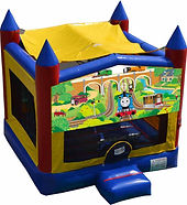 thomas the tank engine bouncy castle hire perth perth bouncy castle hire a bonza bounce thoma and friends party hire