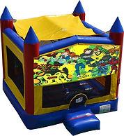 ben 10 ultimate alien bouncy castle hire perth a bonza bounce party hire