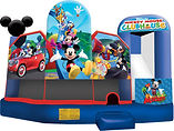 mickey mouse clubhouse perth bouncy castle hire Bonza Bounce
