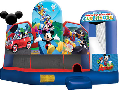 mickey mouse clubhouse minnie mouse perth a bonza bounce bouncy castle hire perth