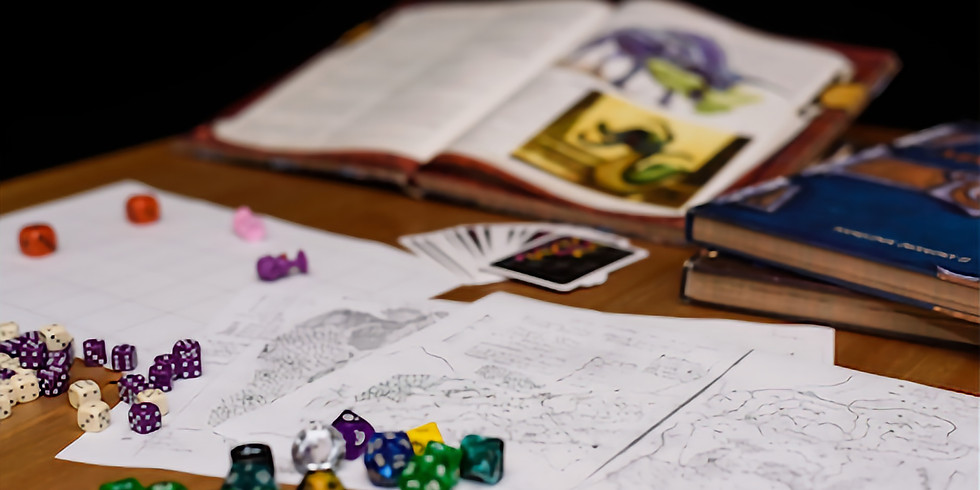 NEW Society RECRUITMENT OPEN: Tabletop Role-Playing Game Society
