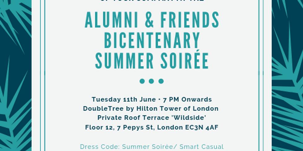 [ALUMNI ONLY] Bicentenary UK Alumni & Friends Summer Party