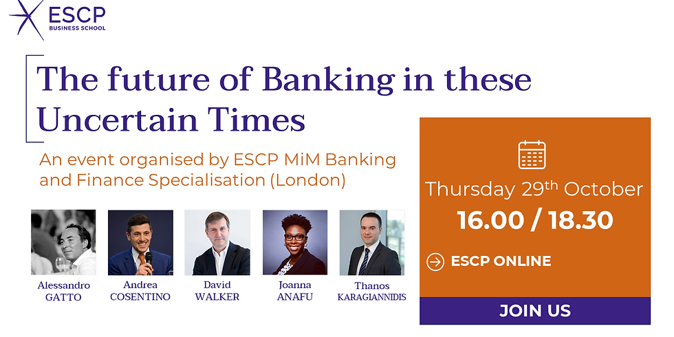 The future of Banking in these Uncertain Times