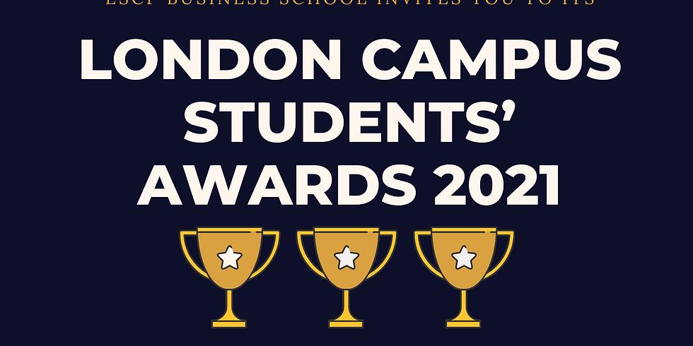 London Campus Students' Awards 2021