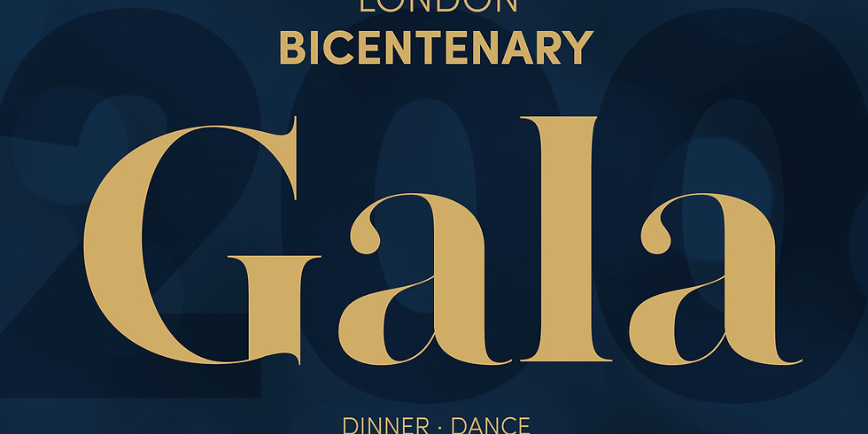 London Annual Gala 2019 Bicentenary Edition