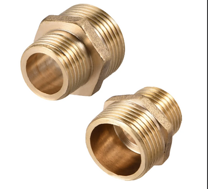Brass Nipple with O ring