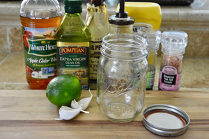 Garlic-Lime Dressing
