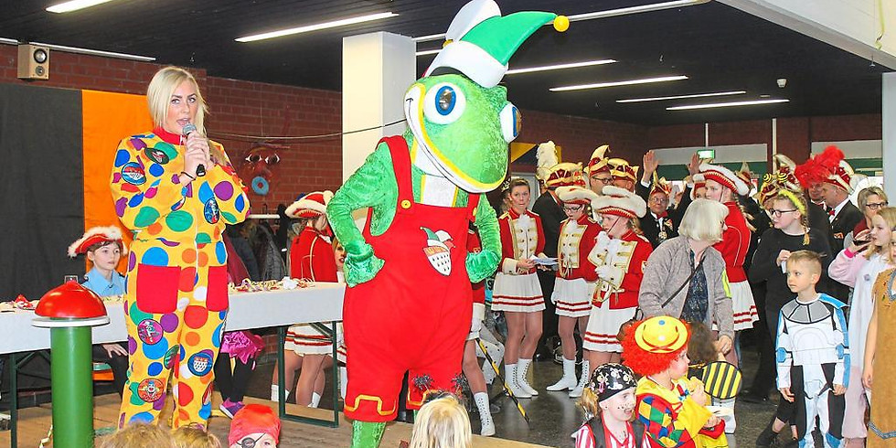 Kinderkarneval in der Sekundarschule