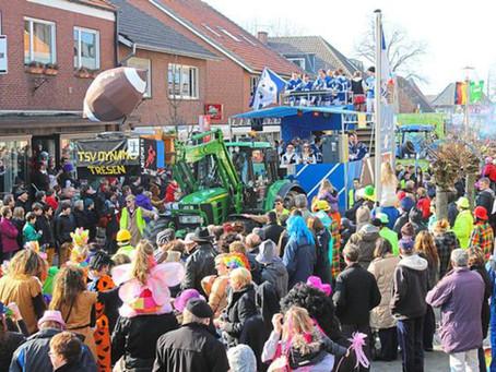 Infos zum Karnevalsumzug am 23.02.2020