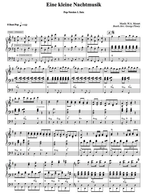 Eine kleine Nachtmusik (W.A. Mozart) Pop-Version