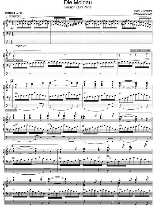 Die Moldau (B. Smetana) Version Curt Prina