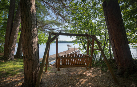 Private Swing and Dock