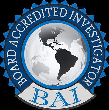 Board Accredited Investigator