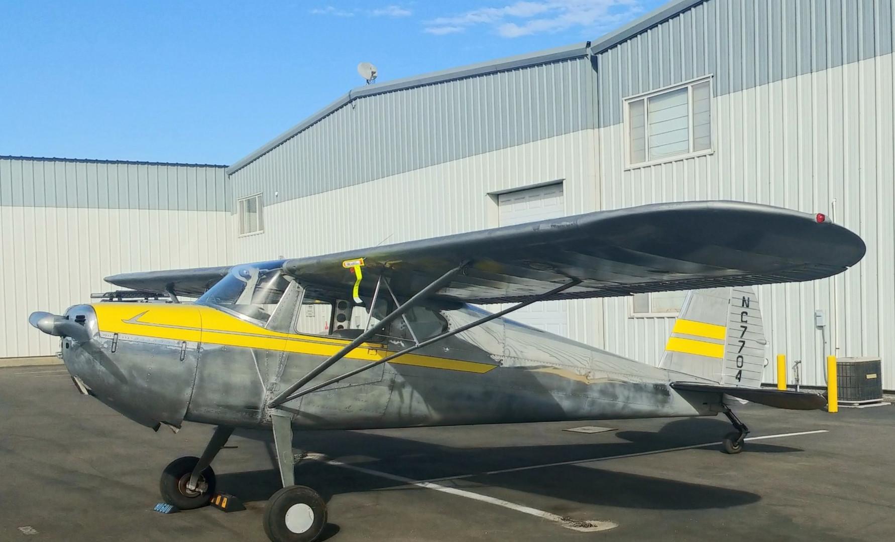 Cessna 140 Tailwheel Training Endorsement