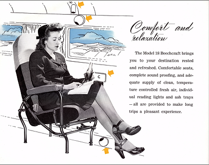 Beech 18 Brochure Comfort and Relaxation