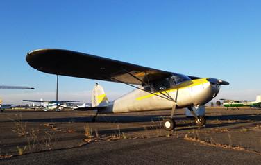 Cessna 140 Tailwheel Instruction