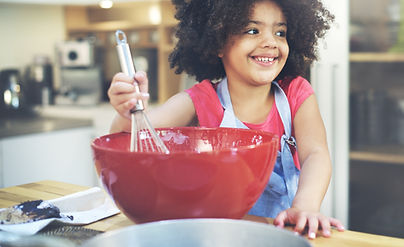 Children Cooking Happiness Kid Home Conc