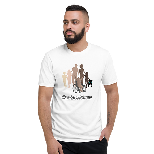 Unisex Lightweight T-Shirt by the OLM DEI Initiative