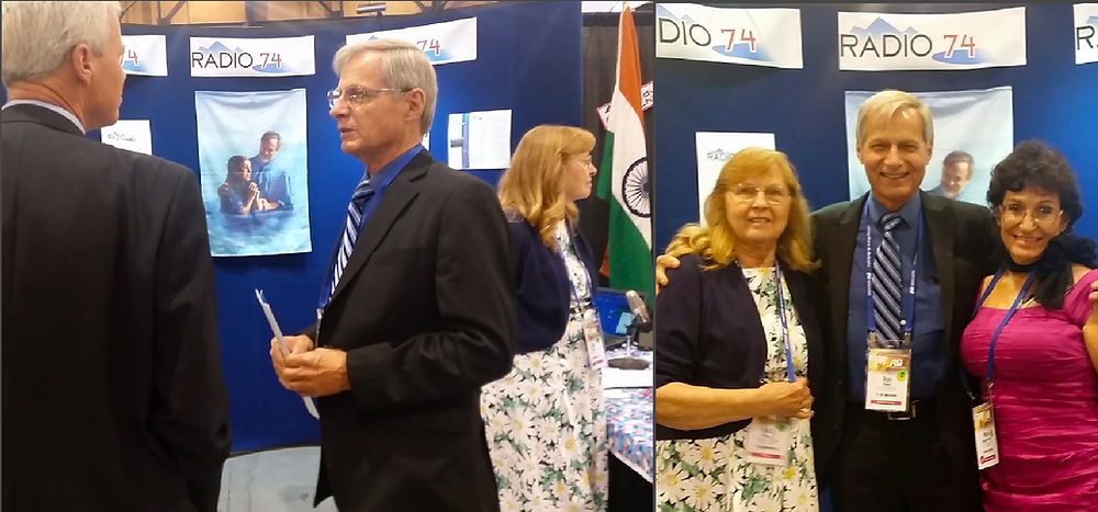 RADIO 74 at ASI 2016 with Ron Myers, JoAnn Witzel and Dr. Roybal-Hazen