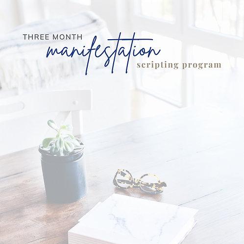 Guided Manifestation Journal SELF-STARTER OPTION
