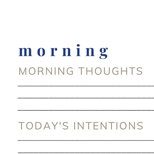 Daily Reflections Template (Design Option 2)