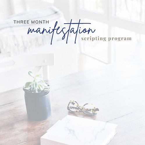 Guided Manifestation Journal GUIDED OPTION