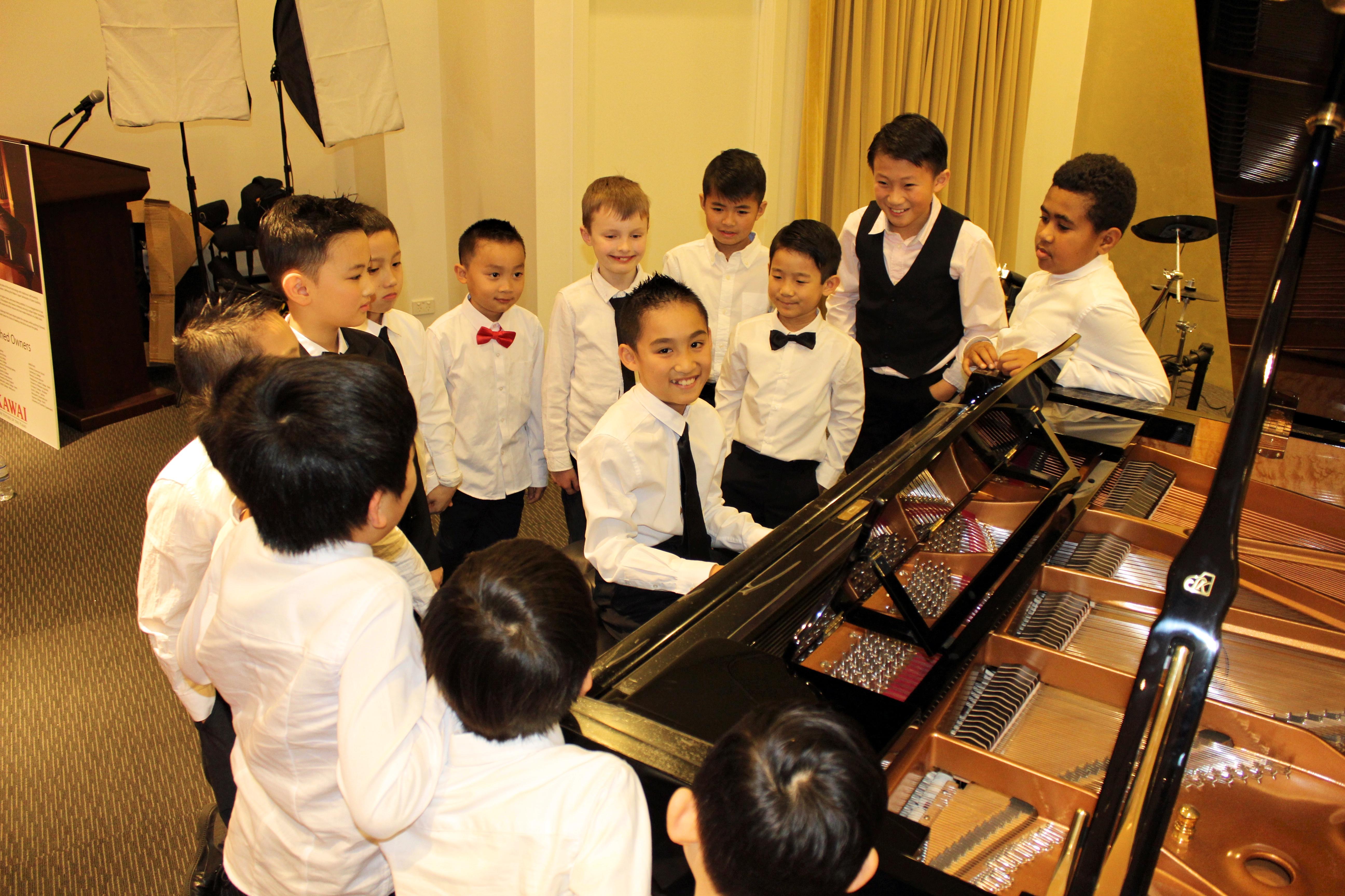piano boys