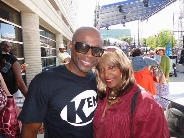 CHAMPAGNE AND R&B SINGER KEM