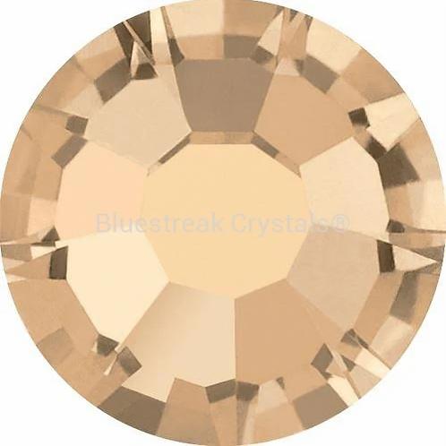 Preciosa® Flatback Crystals Non Hotfix Crystal Honey