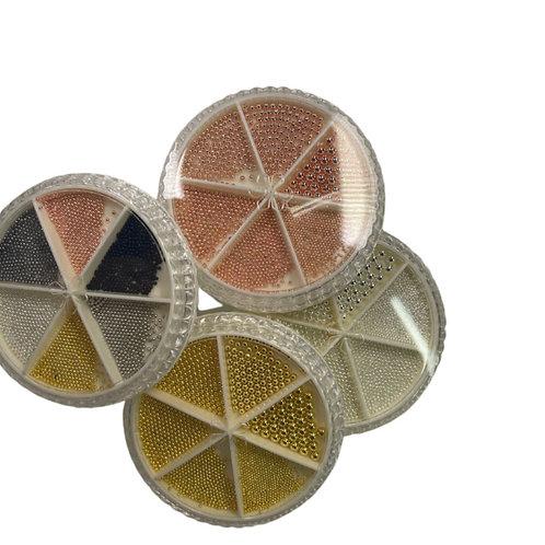 Metal beads / Balines