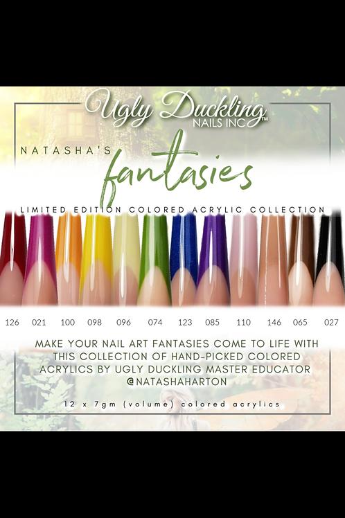 Natasha's Fantasies Limited Edition Colored Acrylic Collection-