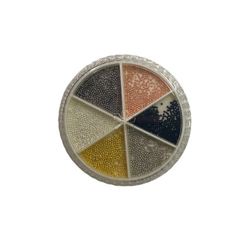 Metal beads Multi / Balines