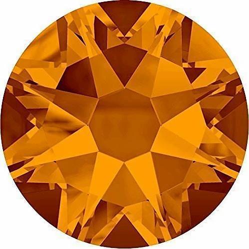 2000, 2058 & 2088 Swarovski® Flatback Crystals Non Hotfix Tangerine