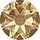 Thumbnail: 2000, 2058 & 2088 Swarovski® Flatback Crystals Non Hotfix Crystal Golden Shadow