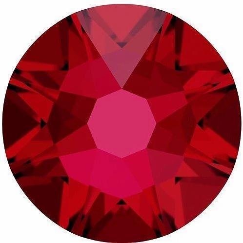 2000, 2058 & 2088 Swarovski® Flatback Crystals Non Hotfix Scarlet
