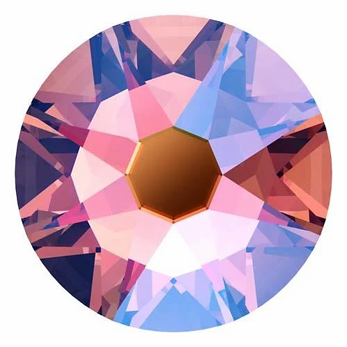 2000, 2058 & 2088 Swarovski® Flatback Crystals Non Hotfix Rose Peach Shimmer