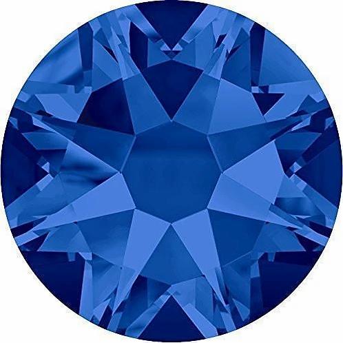 2000, 2058 & 2088 Swarovski® Flatback Crystals Non Hotfix Capri Blue