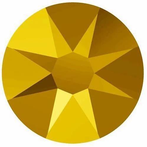 2058 & 2088 Swarovski® Flatback Crystals Non Hotfix Crystal Aurum