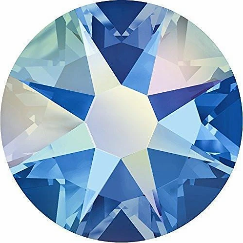 2000, 2058 & 2088 Swarovski® Flatback Crystals Non Hotfix Sapphire AB