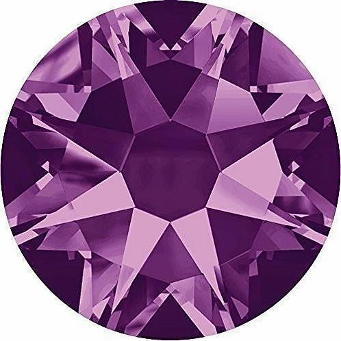 2000, 2058 & 2088 Swarovski® Flatback Crystals Non Hotfix Amethyst