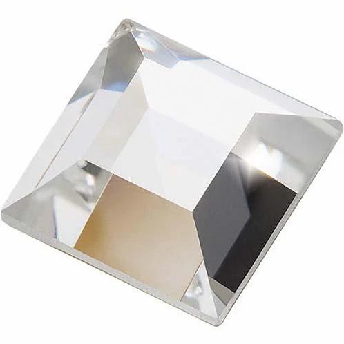 Preciosa® Flatback Crystals Non Hotfix Square