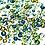 Thumbnail: Greens Mix of Swarovski® Flatback Crystals No Hotfix