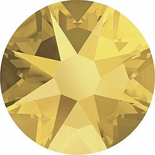 Swarovski® Flatback Crystals Non Hotfix Crystal Metallic Sunshine