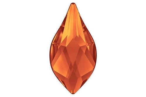 Flame flat back - Fire Opal